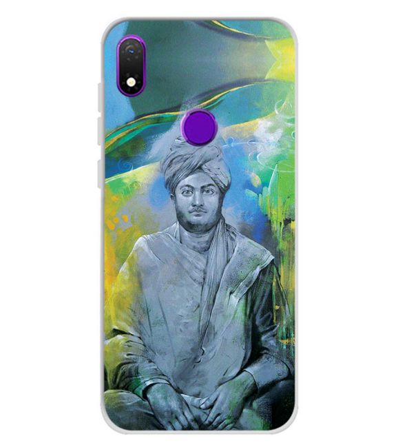Swami Vivekananda Back Cover for Mobiistar X1 Notch
