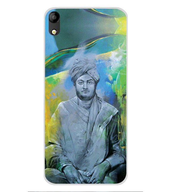 Swami Vivekananda Back Cover for Mobistar C1