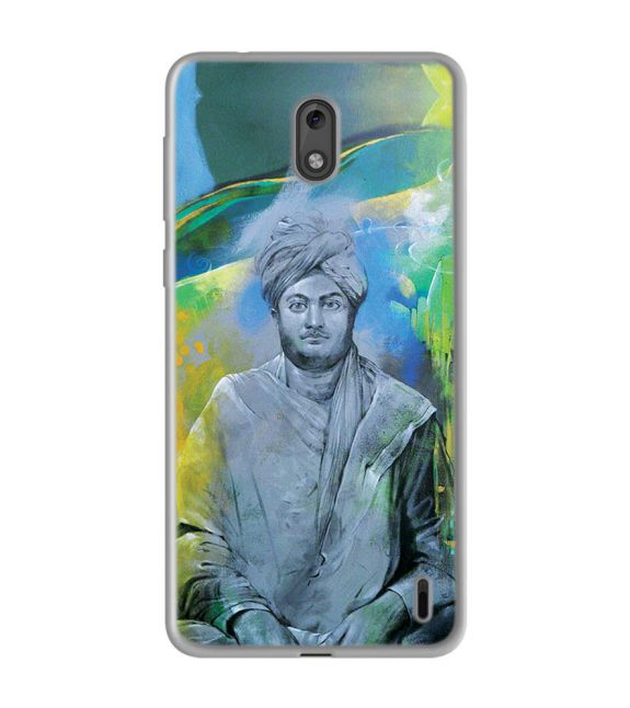 Swami Vivekananda Back Cover for Nokia 2
