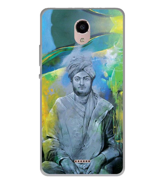 Swami Vivekananda Back Cover for Panasonic Eluga RayX