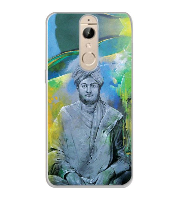 Swami Vivekananda Back Cover for Panasonic Elugaa I9