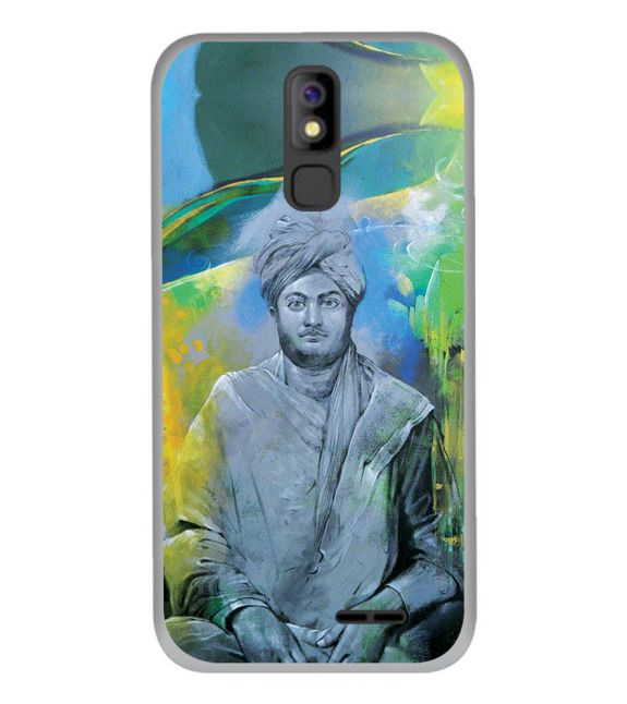 Swami Vivekananda Back Cover for Panasonic P100