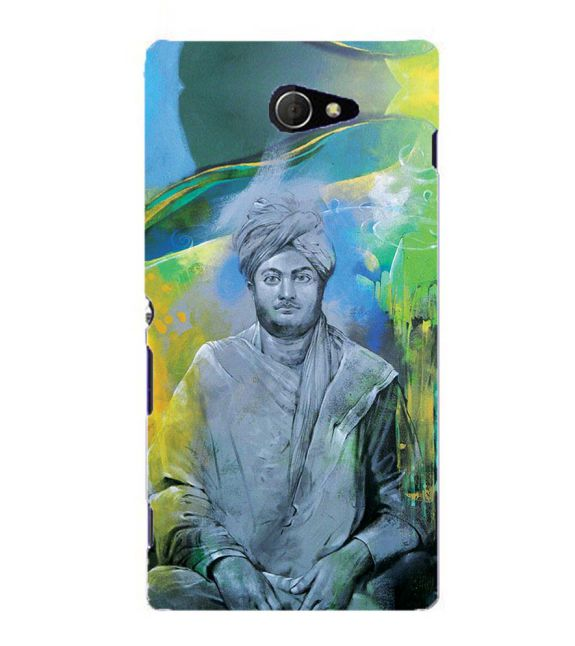 Swami Vivekananda Back Cover for Sony Xperia M2