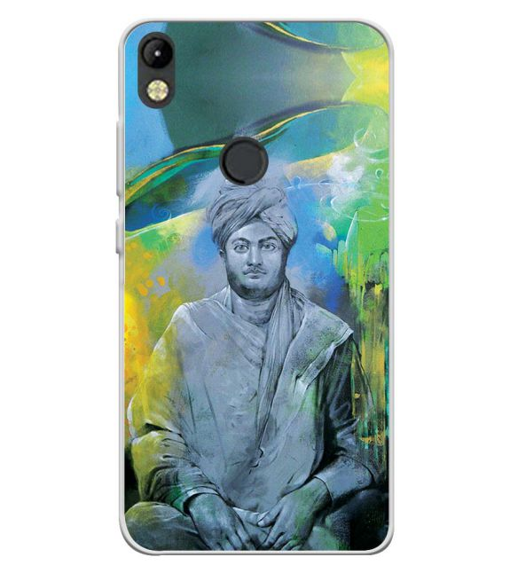 Swami Vivekananda Back Cover for Tecno Camon I