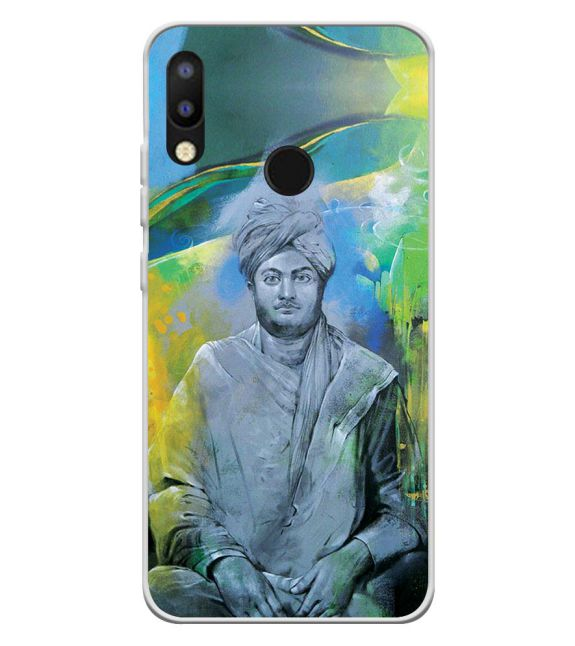Swami Vivekananda Back Cover for Tecno Camon i2