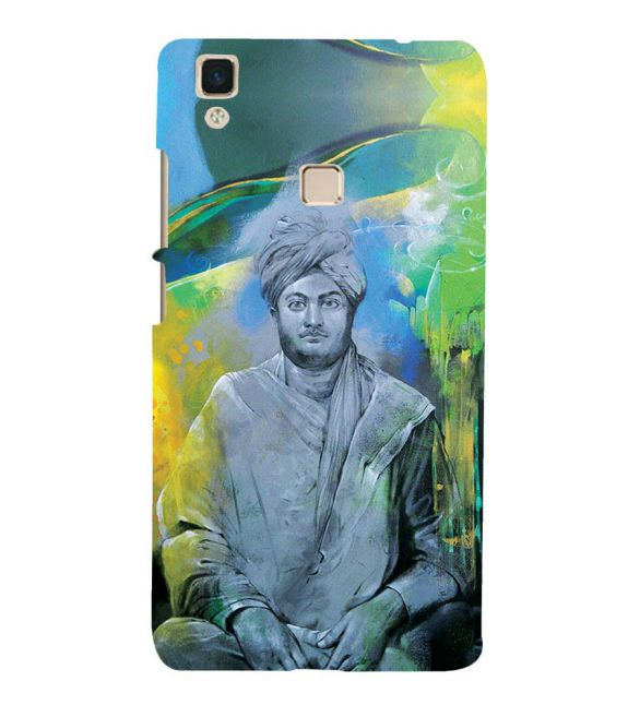Swami Vivekananda Back Cover for Vivo V3Max
