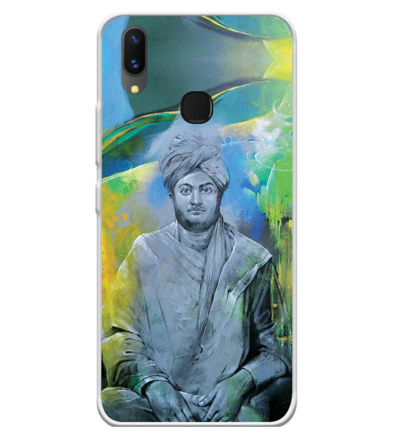 Swami Vivekananda Back Cover for Vivo X21