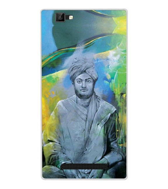 Swami Vivekananda Back Cover for Xolo Era 1X Pro