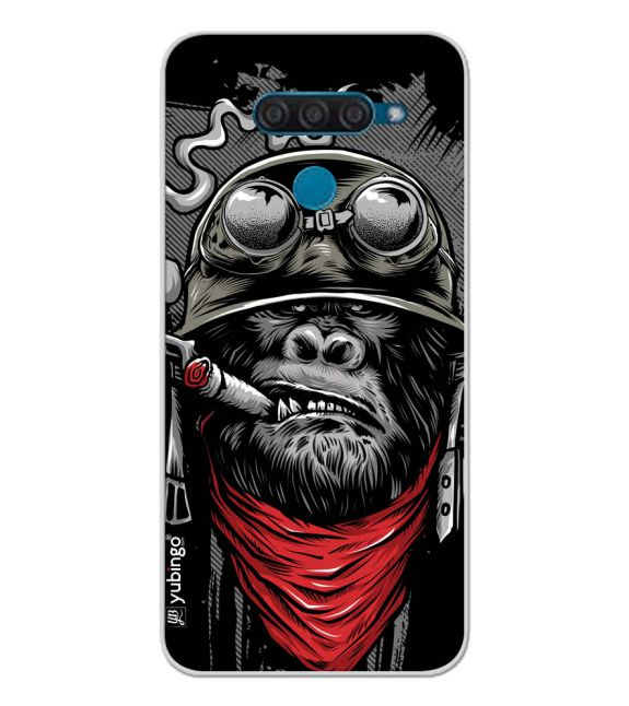 The Angry Ape Back Cover for LG Q60
