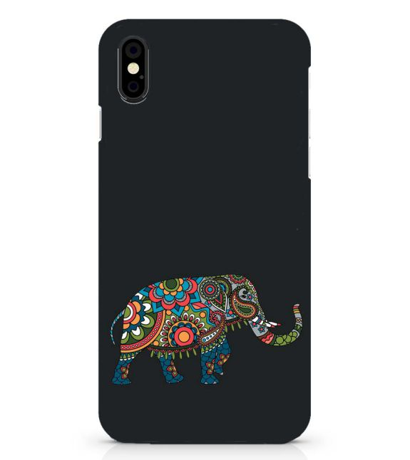 The Elephant Back Cover for Apple iPhone X