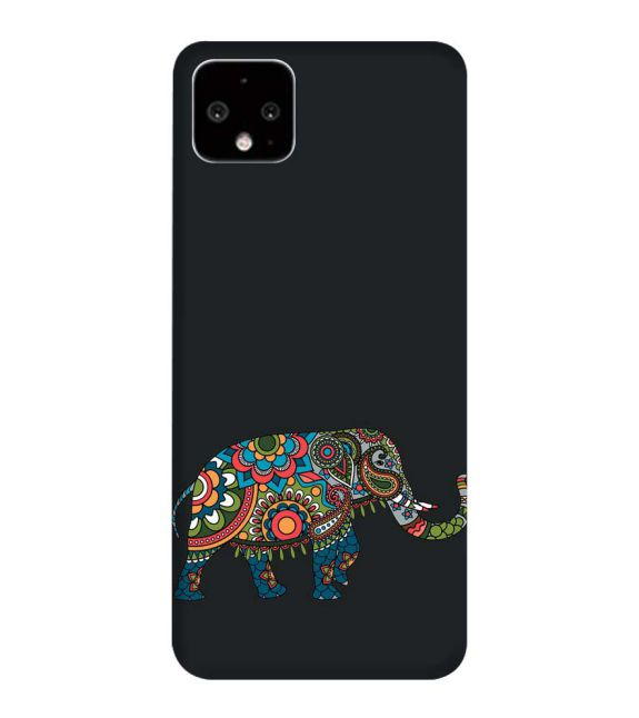 The Elephant Back Cover for Google Pixel 4 XL