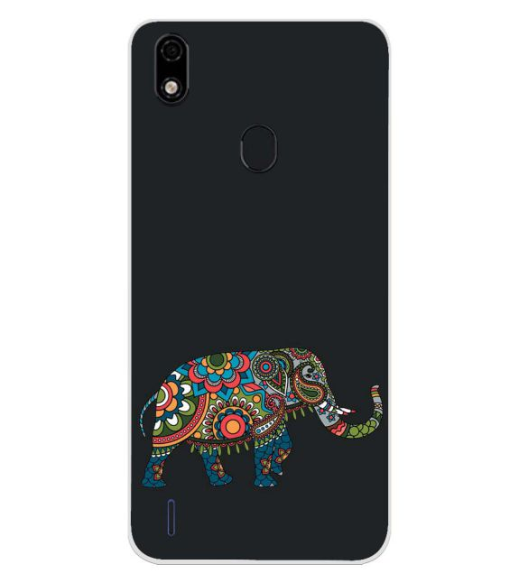The Elephant Back Cover for Lava Z52 Pro