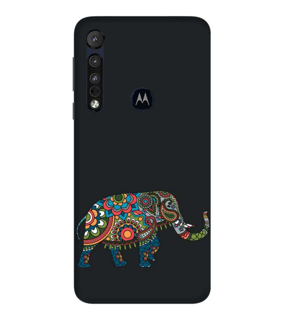 The Elephant Back Cover for Motorola One Macro