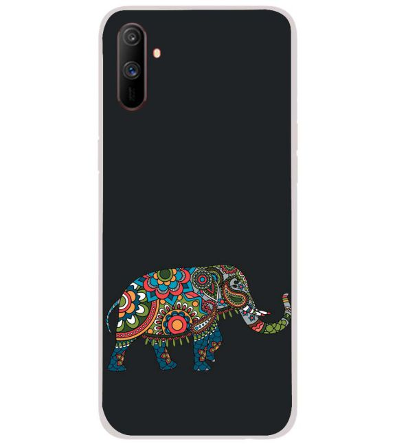 The Elephant Back Cover for Realme C3
