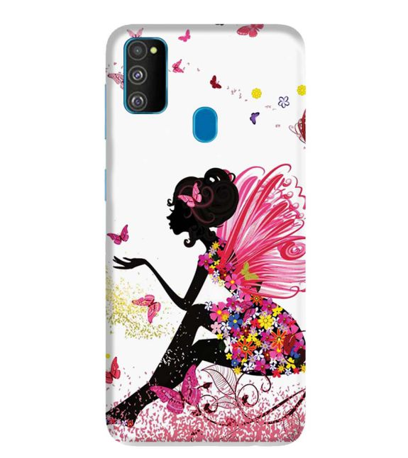 The Pixie With Her Butterflies Back Cover for Samsung Galaxy M30s