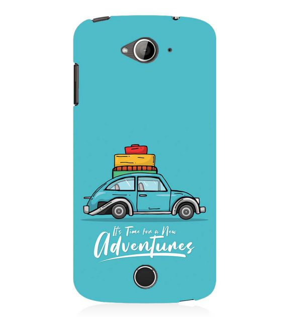 Time for Adventure Back Cover for Acer Liquid Zade 530