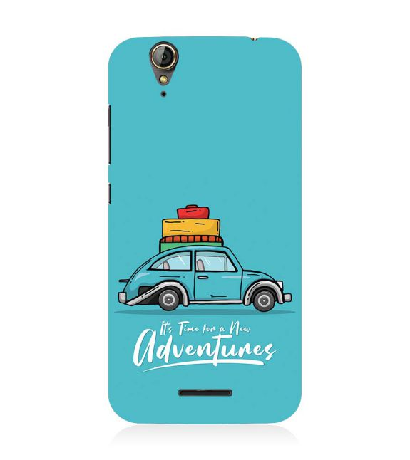 Time for Adventure Back Cover for Acer Liquid Zade 630