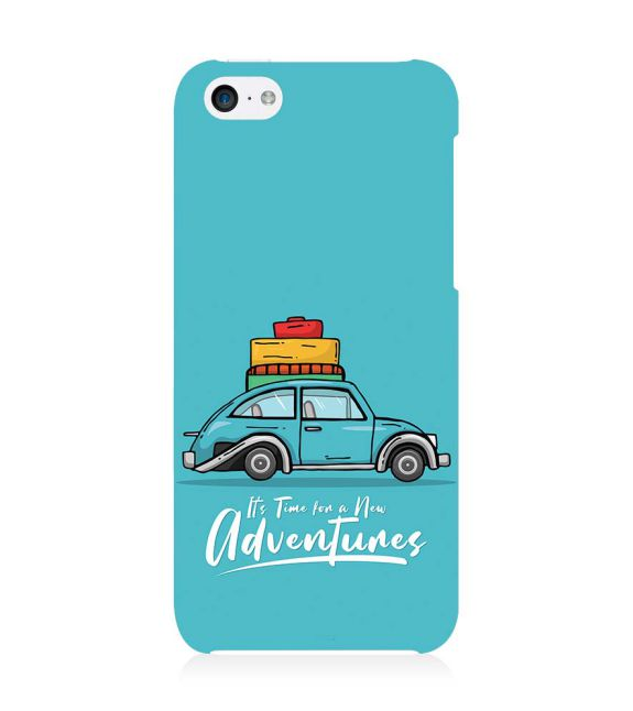Time for Adventure Back Cover for Apple iPhone 5c