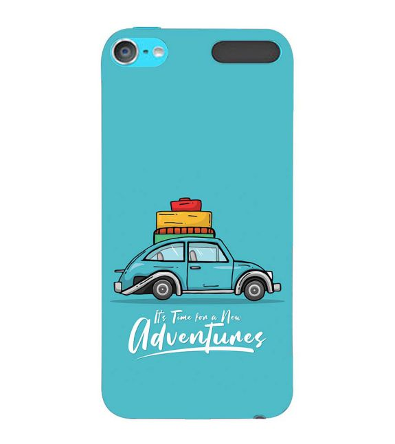 Time for Adventure Back Cover for Apple iPod Touch 6
