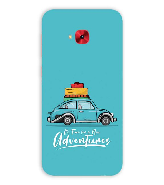 Time for Adventure Back Cover for Asus Zenfone 4 Selfie Pro ZD552KL