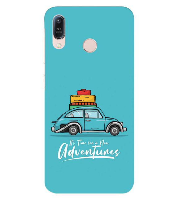 Time for Adventure Back Cover for Asus Zenfone Max (M1) ZB556KL