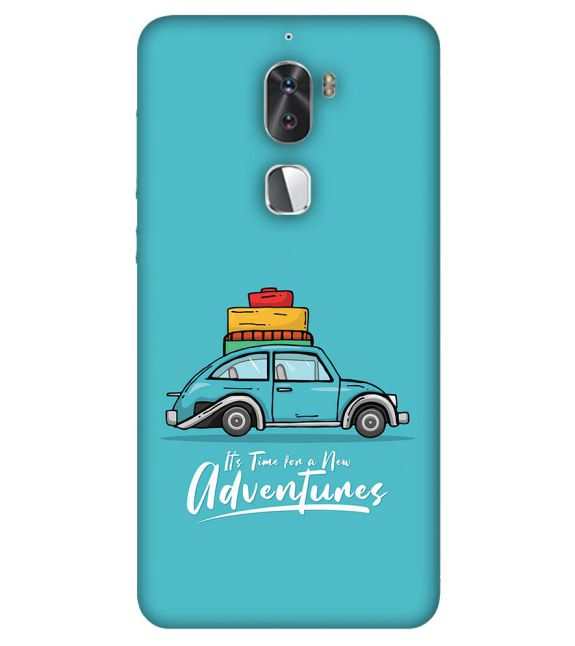 Time for Adventure Back Cover for Coolpad Cool 1