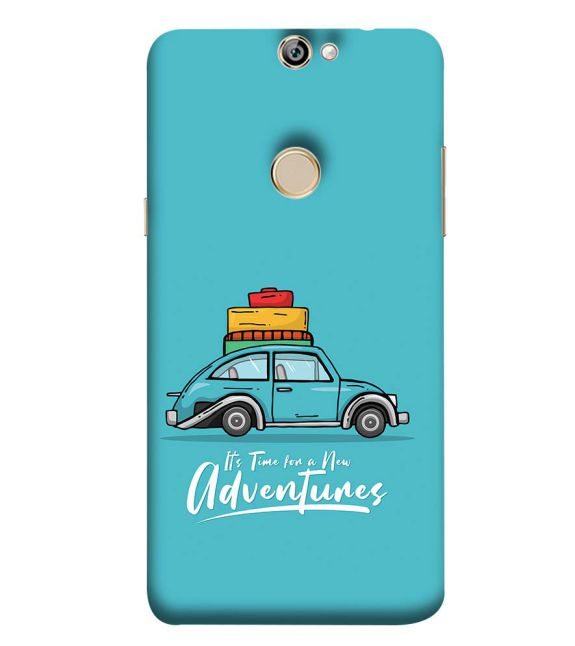 Time for Adventure Back Cover for Coolpad Max A8