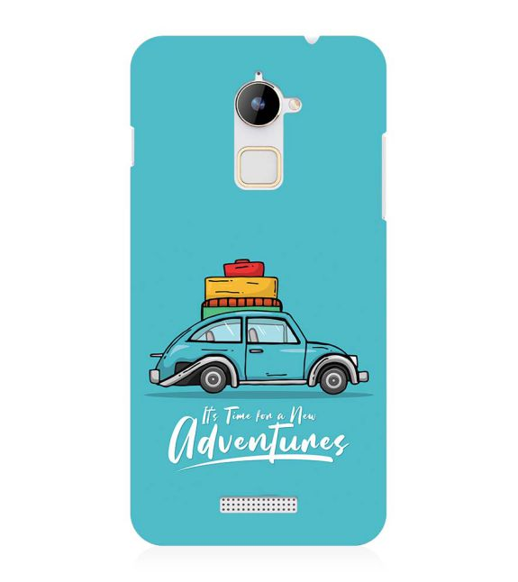 Time for Adventure Back Cover for Coolpad Note 3 Lite