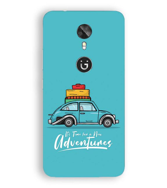 Time for Adventure Back Cover for Gionee A1