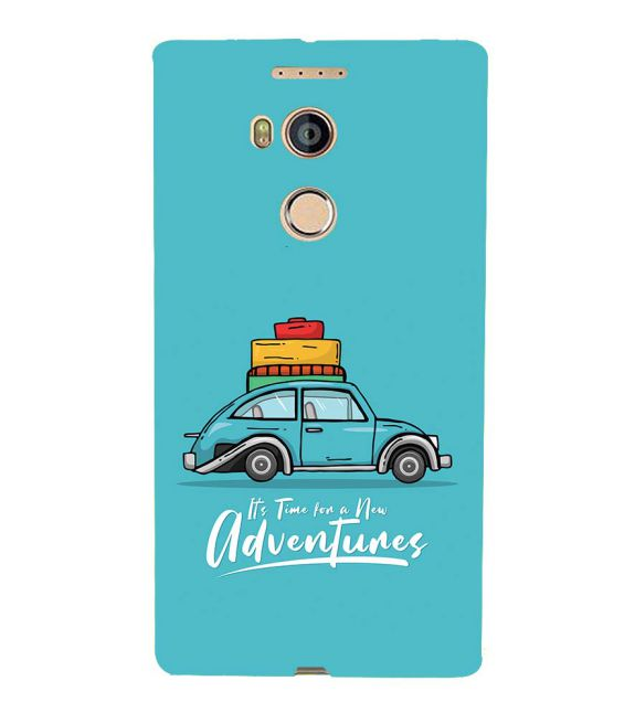 Time for Adventure Back Cover for Gionee Elife E8