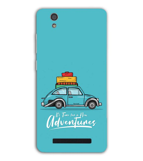 Time for Adventure Back Cover for Gionee F103