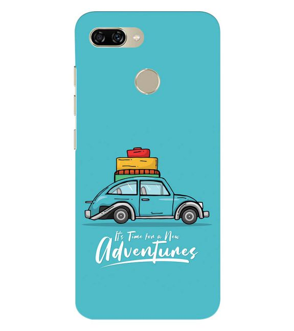 Time for Adventure Back Cover for Gionee S11 lite