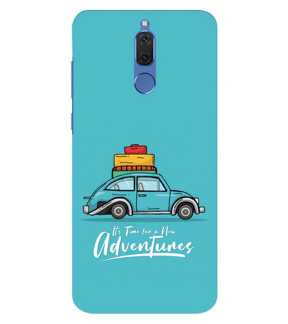 Time for Adventure Back Cover for Honor 10 Lite