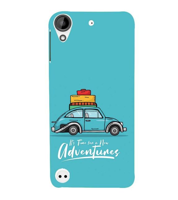 Time for Adventure Back Cover for HTC Desire 530