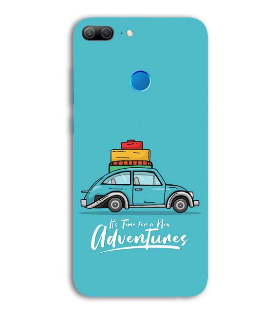 Time for Adventure Back Cover for Huawei Honor 9 Lite