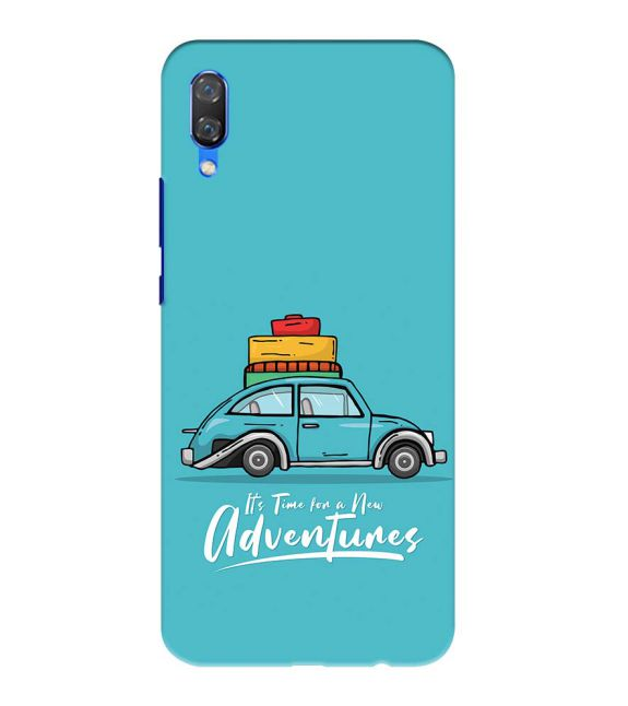 Time for Adventure Back Cover for Huawei Nova 3
