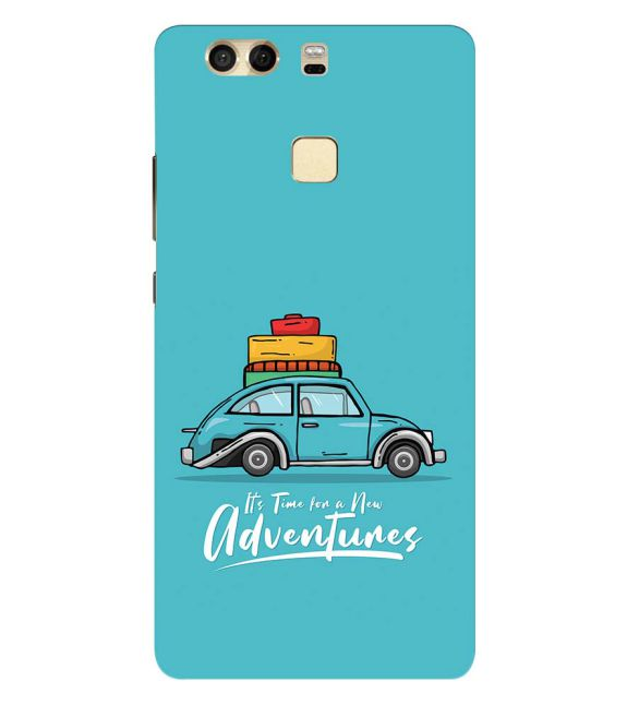 Time for Adventure Back Cover for Huawei P9