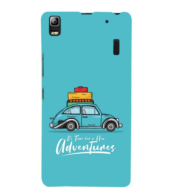 Time for Adventure Back Cover for Lenovo A7000 and K3 Note