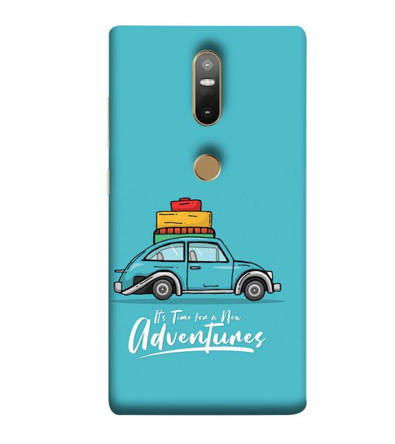 Time for Adventure Back Cover for Lenovo Phab 2 Plus