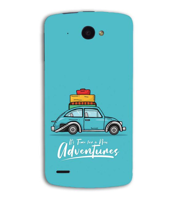 Time for Adventure Back Cover for Lenovo S920