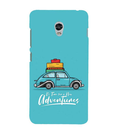 Time for Adventure Back Cover for Lenovo Vibe P1