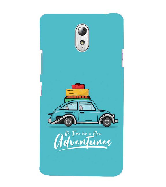 Time for Adventure Back Cover for Lenovo Vibe P1M