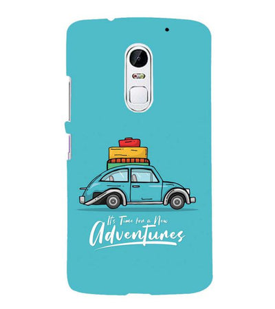 Time for Adventure Back Cover for Lenovo Vibe X3