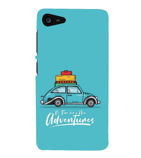 Time for Adventure Back Cover for Lenovo ZUK Z2