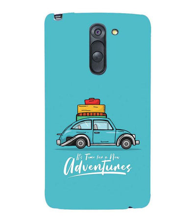 Time for Adventure Back Cover for LG G3 Stylus