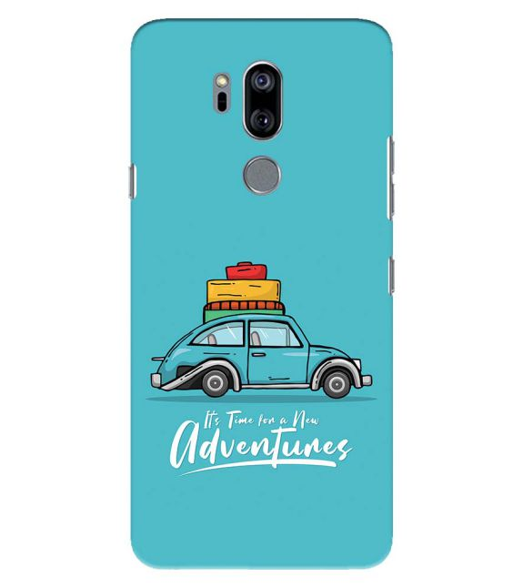 Time for Adventure Back Cover for LG G7