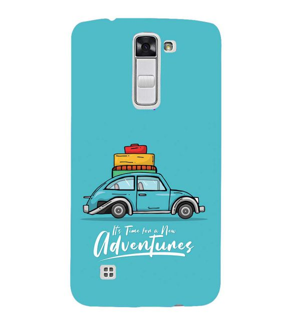 Time for Adventure Back Cover for LG K10