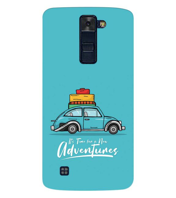 Time for Adventure Back Cover for LG K8