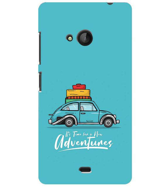 Time for Adventure Back Cover for Microsoft Lumia 540