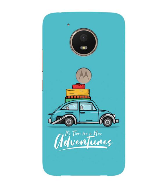 Time for Adventure Back Cover for Motorola Moto E4